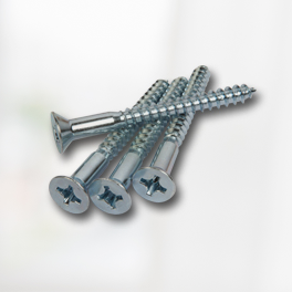 Zinc Plated Phillips Flat Head Screws